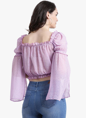 Square Neck Crop Top