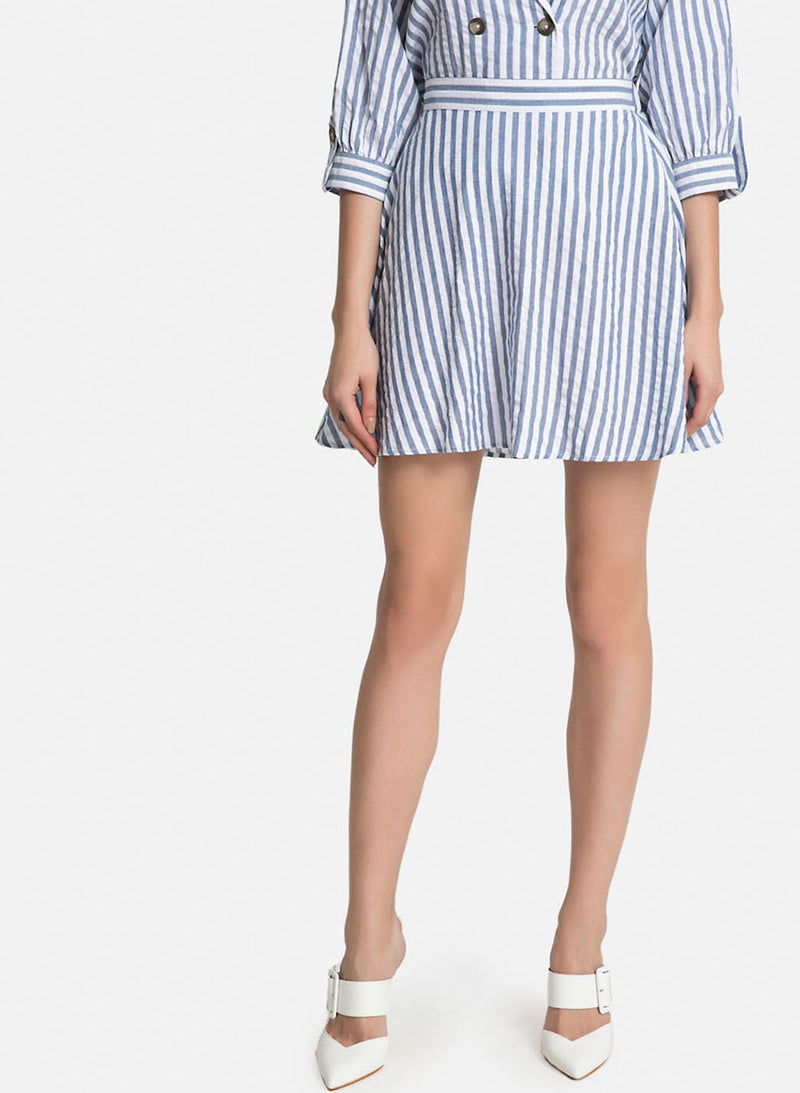 Skater Stripe Skirt (Additional 20% OFF)