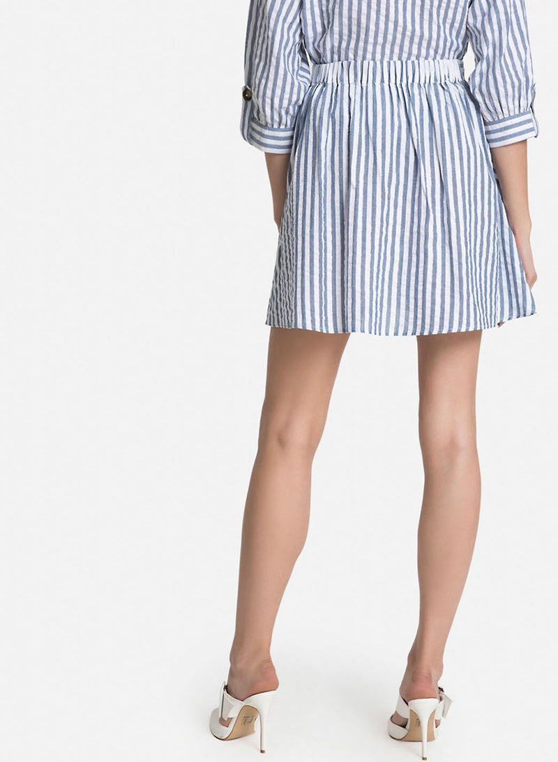 Skater Stripe Skirt