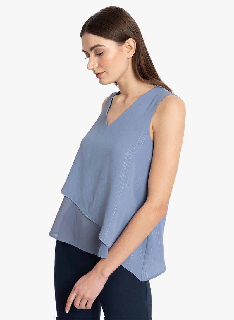 Lurex Overlay Top (Additional 20% OFF)