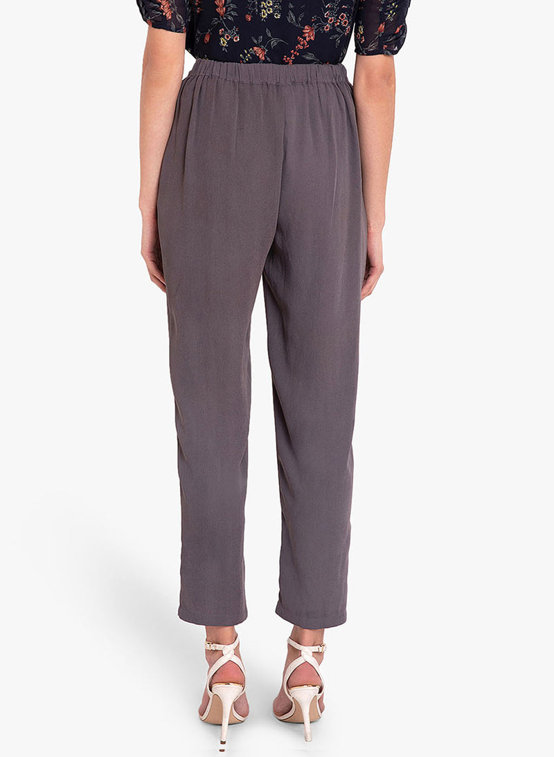 Double Pleat Tappered Hem Trouser (Additional 20% OFF)