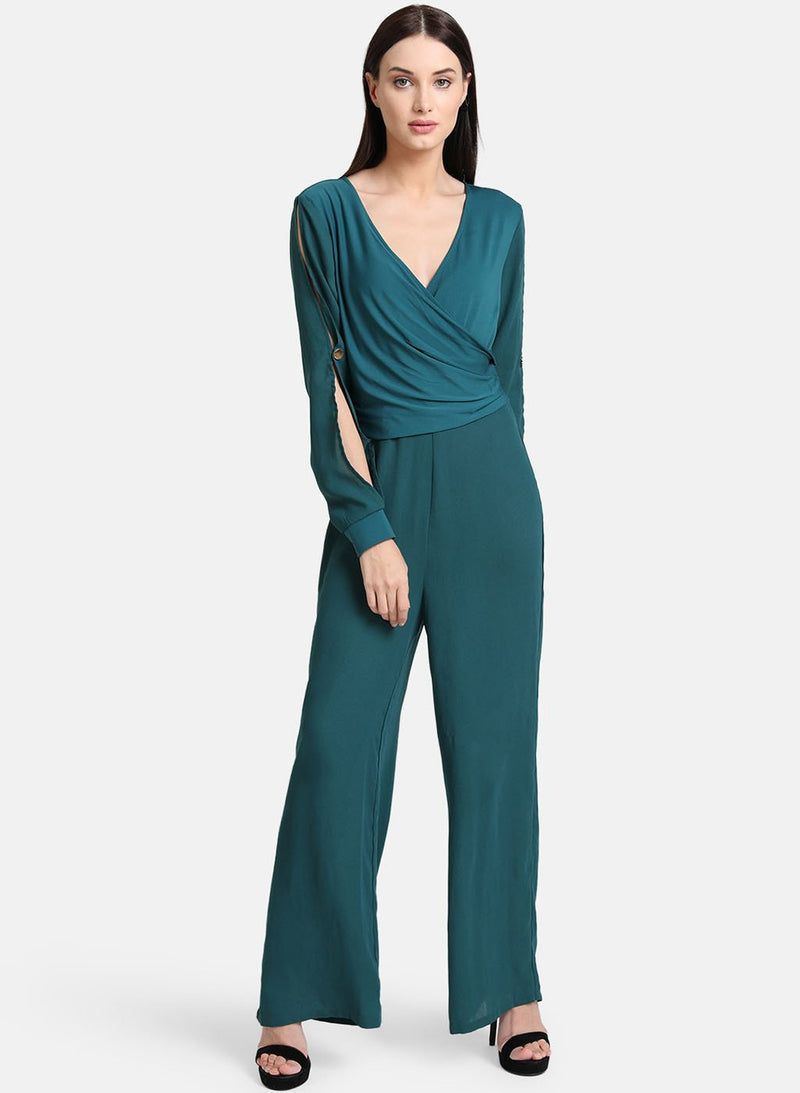 Draped Panel Jumpsuit (Additional 20% OFF)