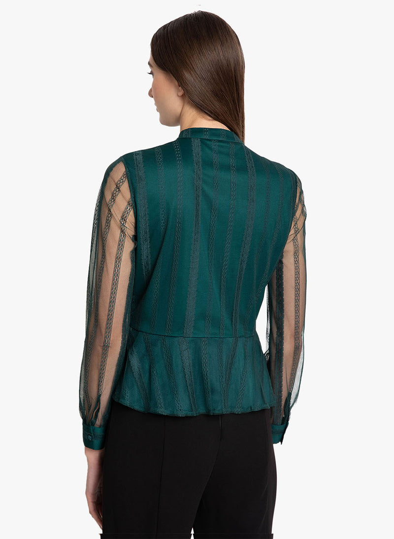 Peplum Shirt (Additional 20% OFF)