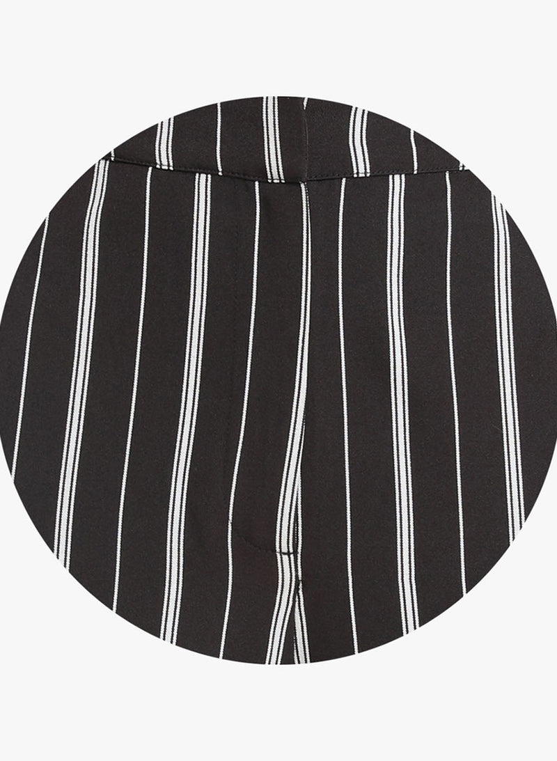 Striped Tappered Trouser