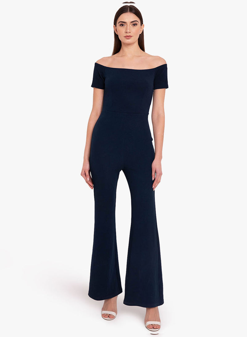 Off Shoulder Jumpsuit (Additional 20% OFF)