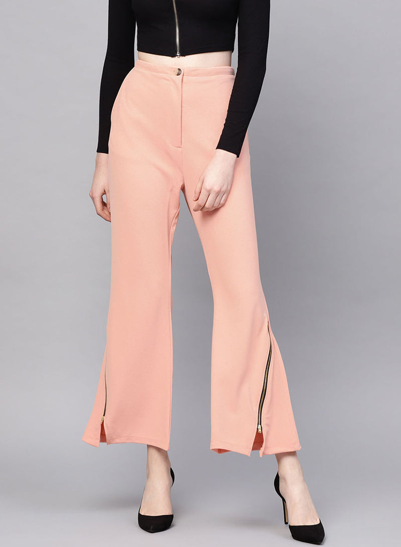 Self Textured Trouser