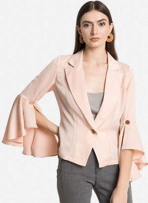 Waterfall Sleeves Jacket