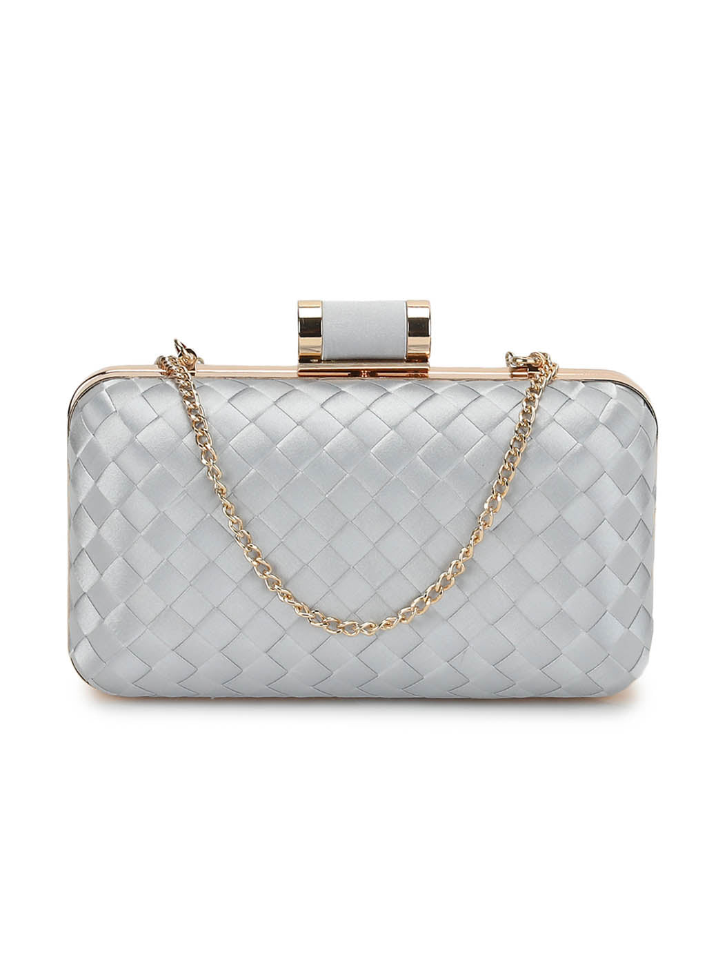 Lana Grey Weave Clutch (Buy 2 Get Extra 30% Off)
