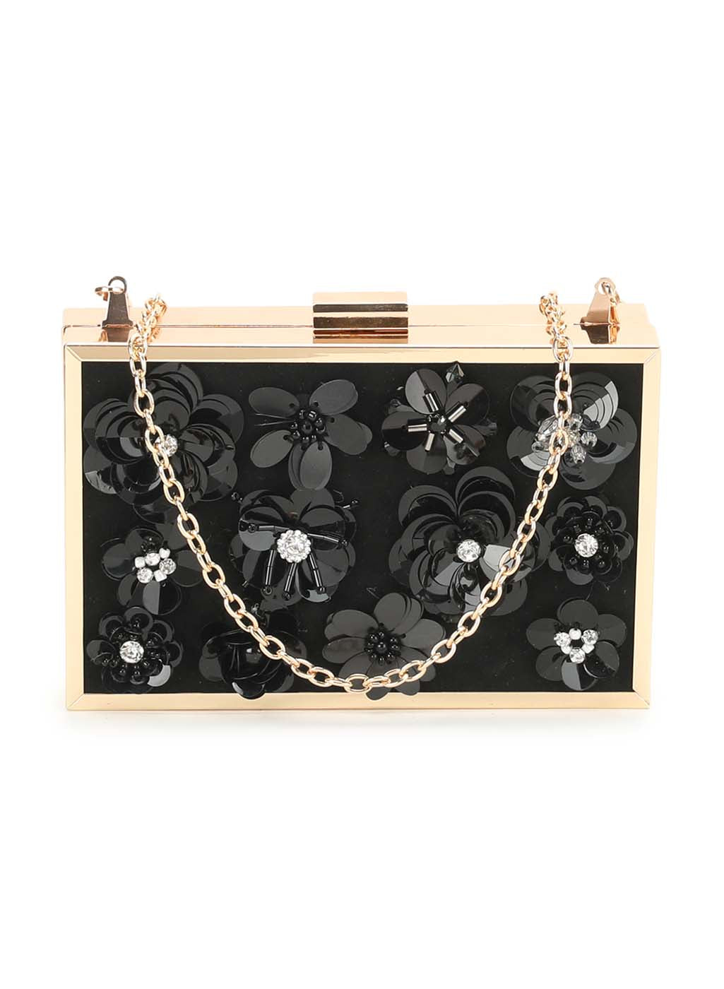 Phoebe Black Clutch (Buy 2 Get Extra 30% Off)