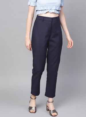 Trouser With Front Hook