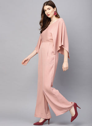 Jumpsuit With Extended Sleeves Loose