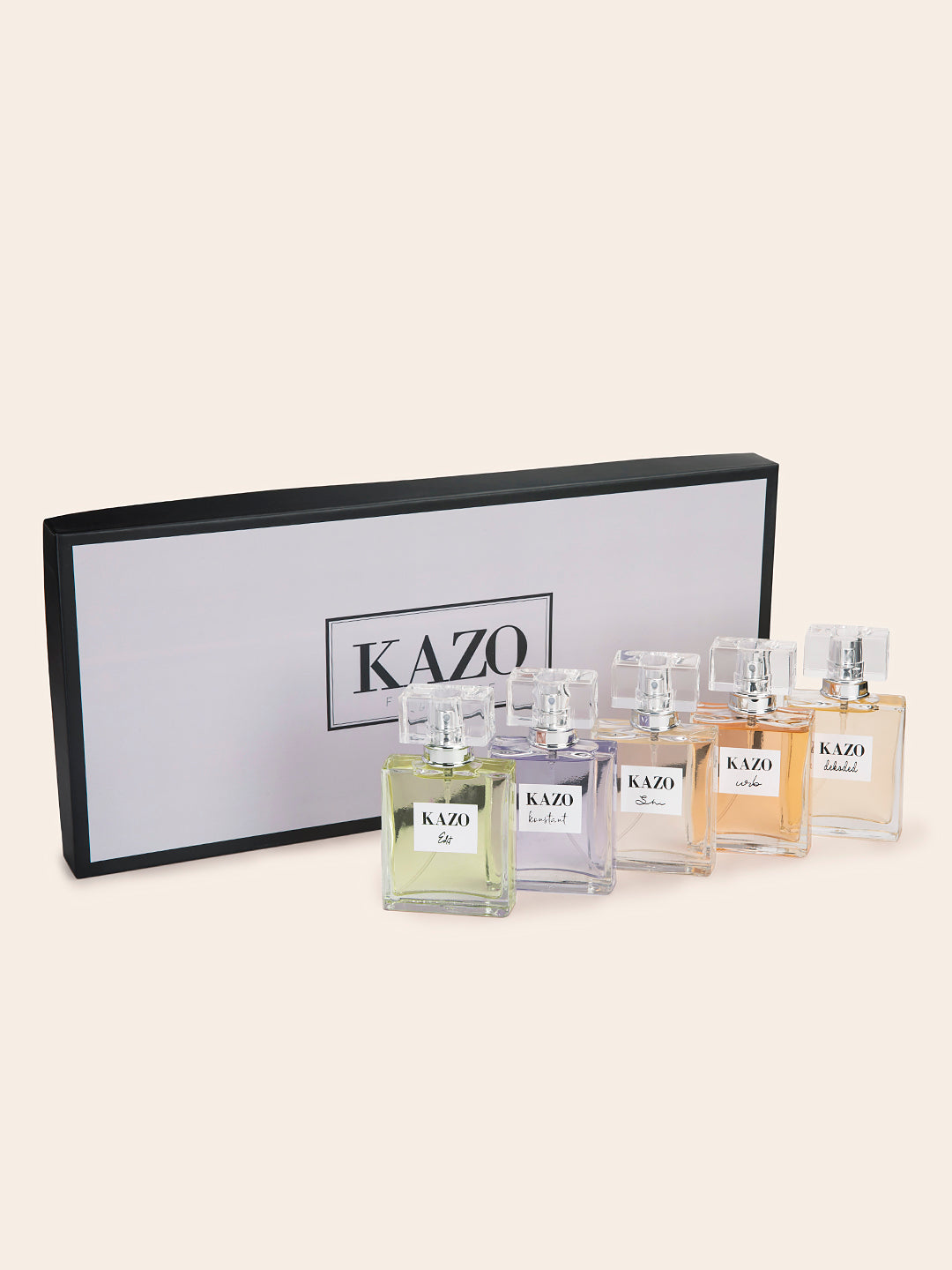 Kazo Perfume - Pack Of 5- 50ml