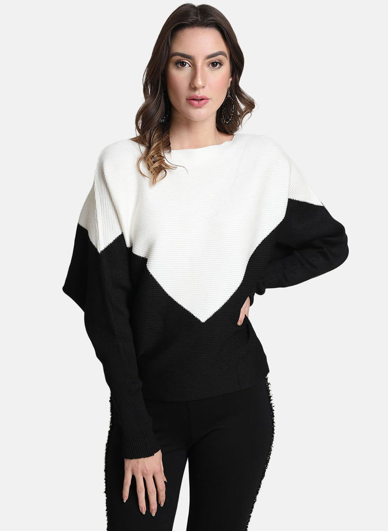 Colour Block Pullover