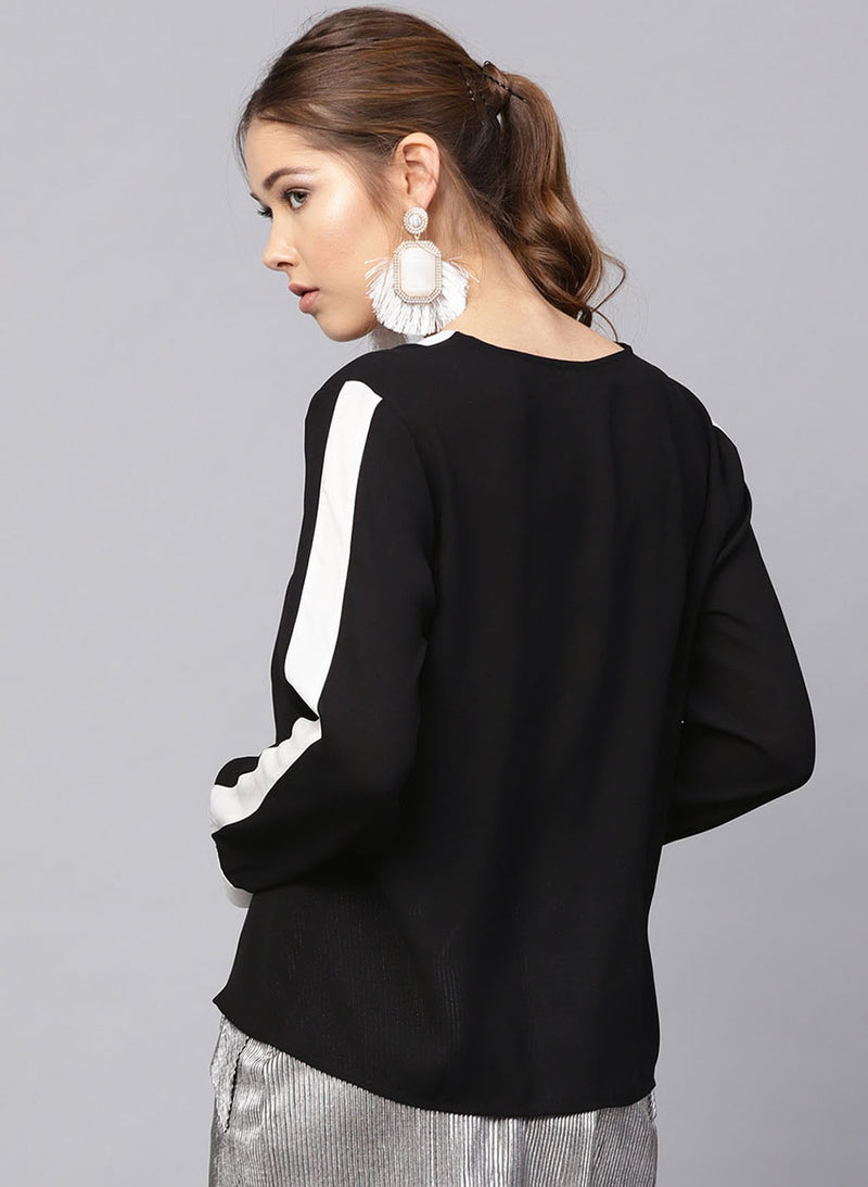 Top With Patch Placket