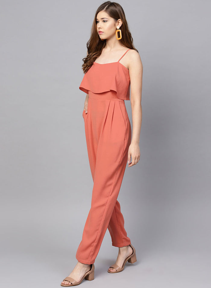Jumpsuit With Overlap