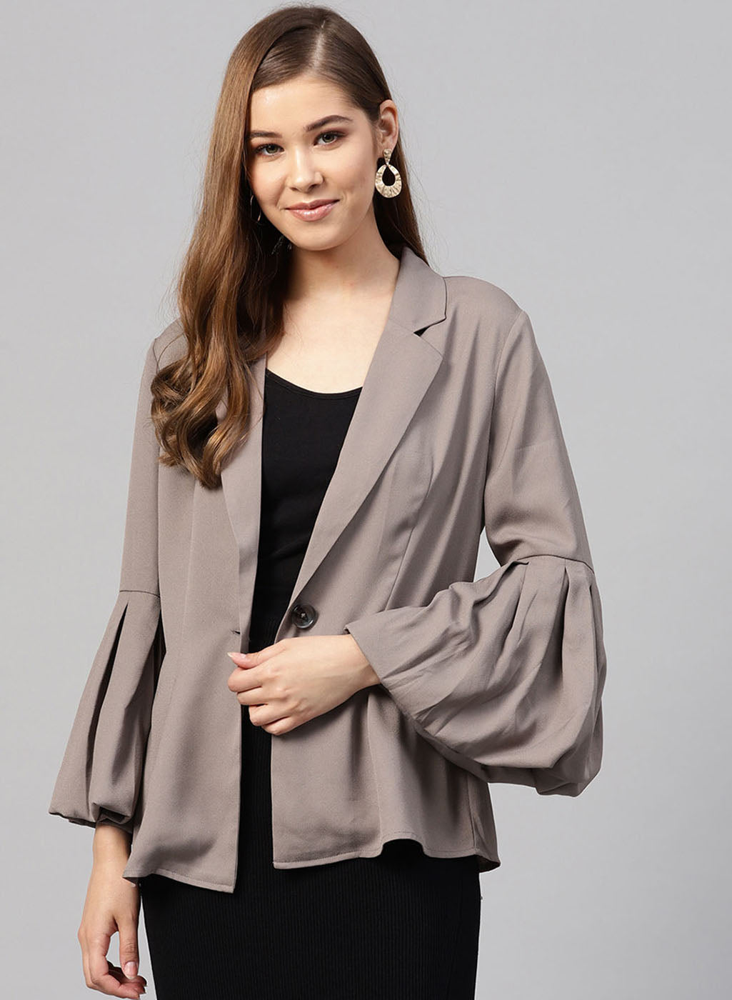 Summer Blazer With Collar