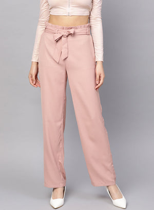 Trouser With Waist Tie Up (Additional 23% OFF)