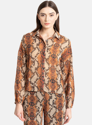 Animal Printed Shirt