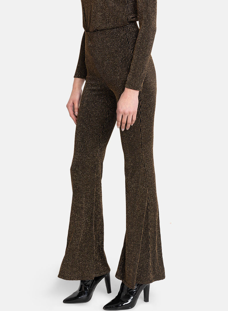 Fit & Flare Lurex Pants