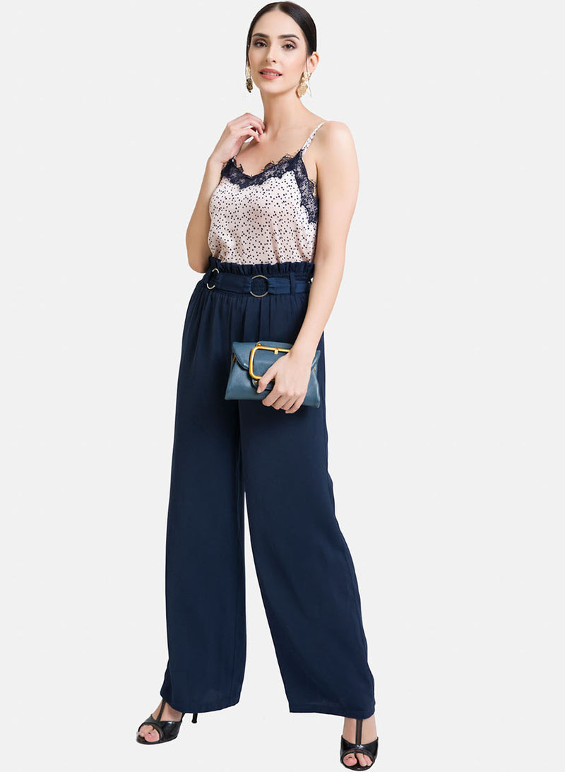 Trouser With Smocking At Waist (Additional 20% OFF)