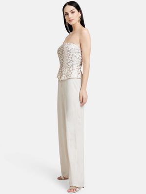 Off Shoulder Pristine Jumpsuit