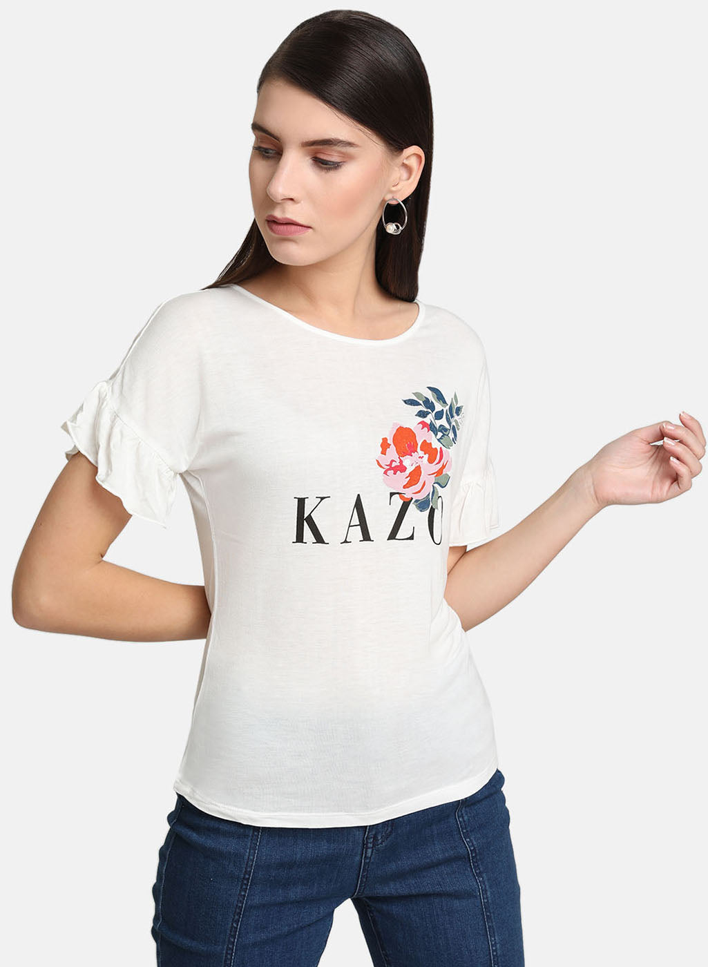Flower Puff T-Shirt (Additional 23% OFF)