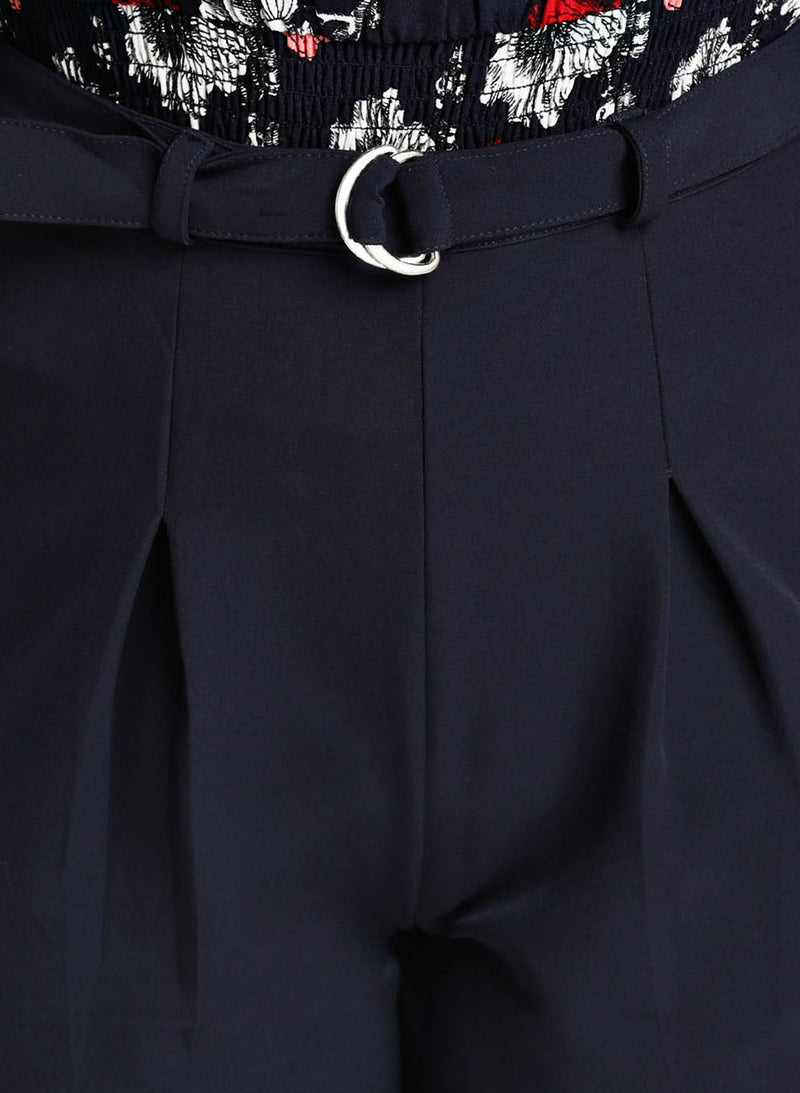 Ring Belt Detail Trouser
