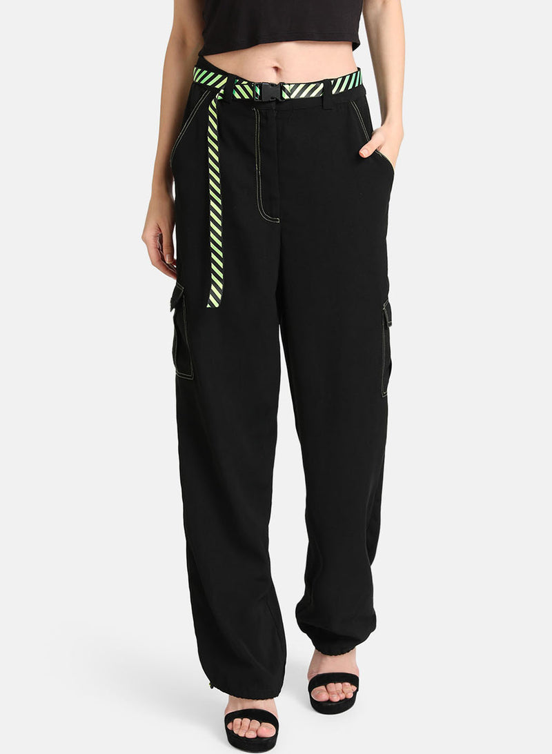 Trousers With Contrast Stitch Detailing(Additional 20% on 2)