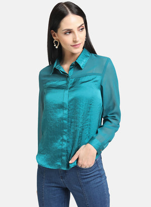 Double Placket Shirt(Additional 20% on 2)