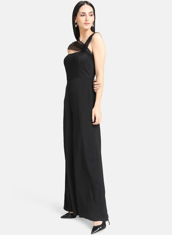 Black One Shoulder Jumpsuit (Additional 20% OFF)