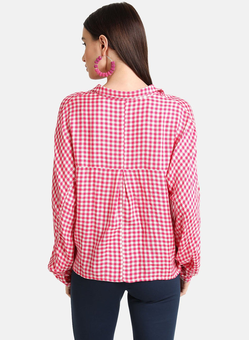Button Down Checked Shirt