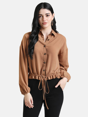 Shirt With Drawstring Detail(Additional 20% on 2)