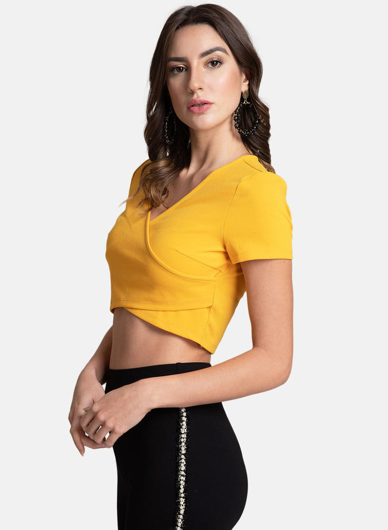 Wrap Crop Top (Additional 20% OFF)