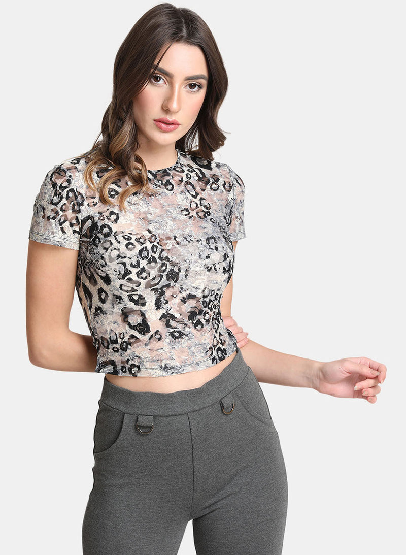 Round Neck Basic Fitted Top (Additional 20% OFF)