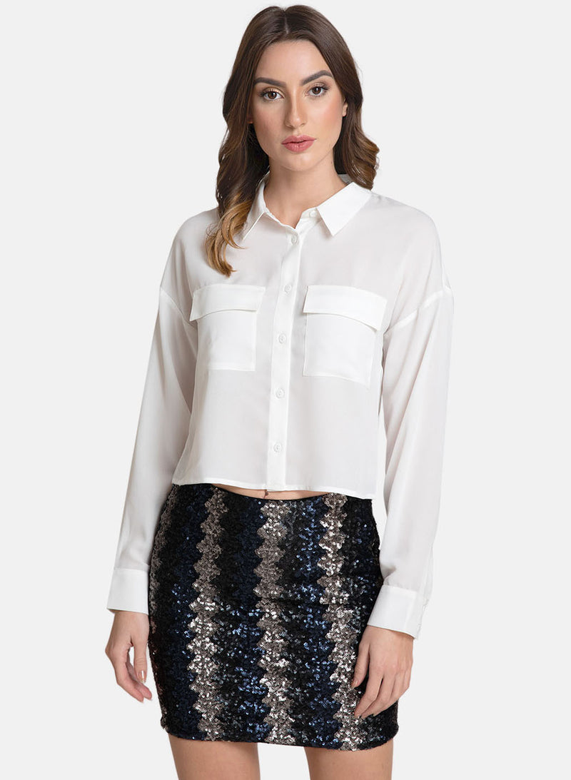 Button Down Shirt With Pockets (Additional 20% OFF)