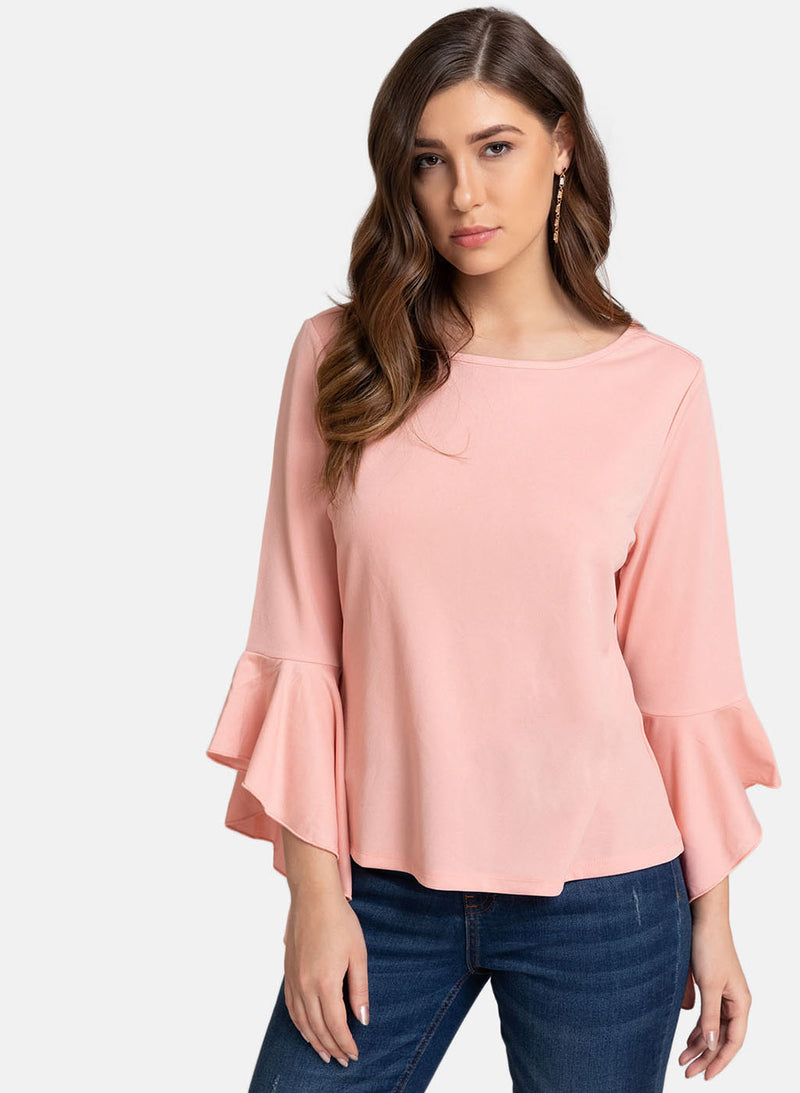 Flared Sleeves Top (Additional 20% OFF)