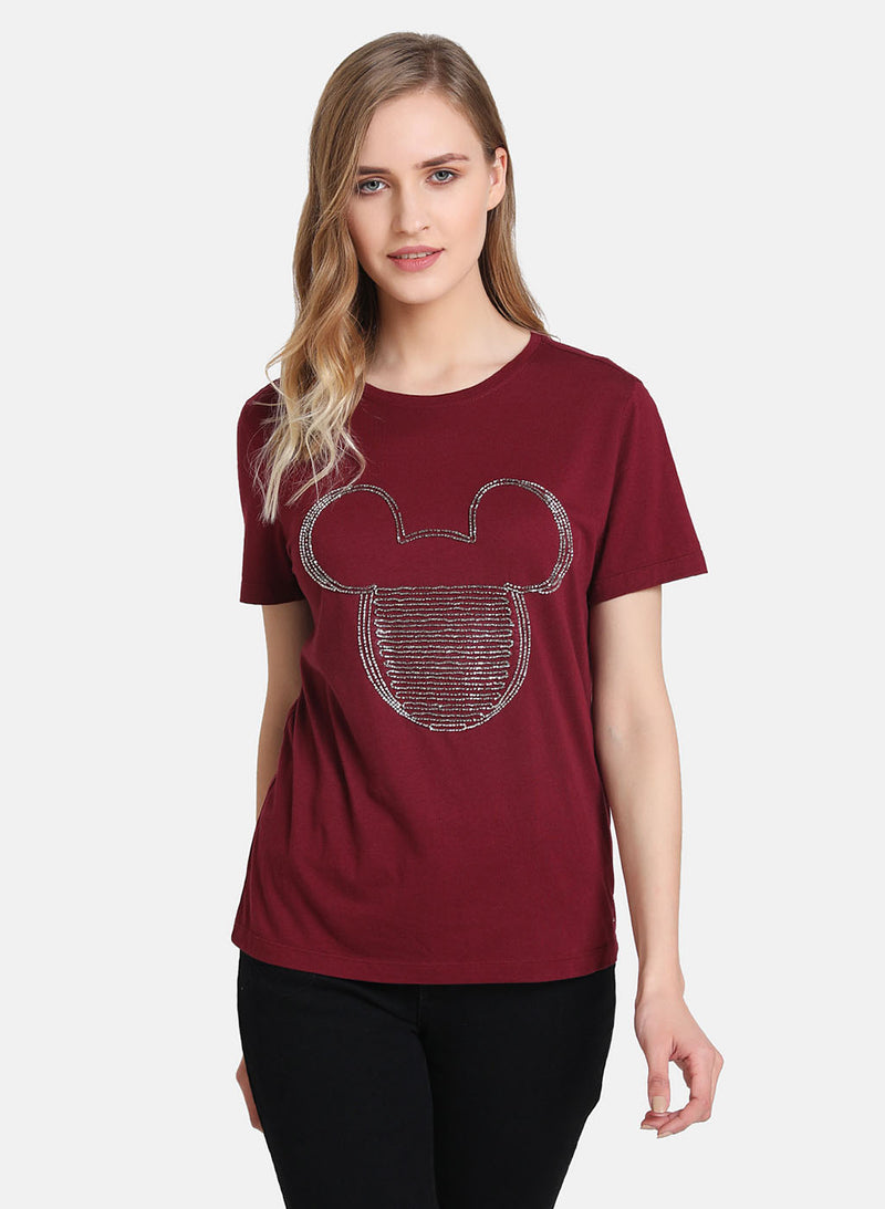 Mickey Mouse  © Disney Sequin T-Shirt