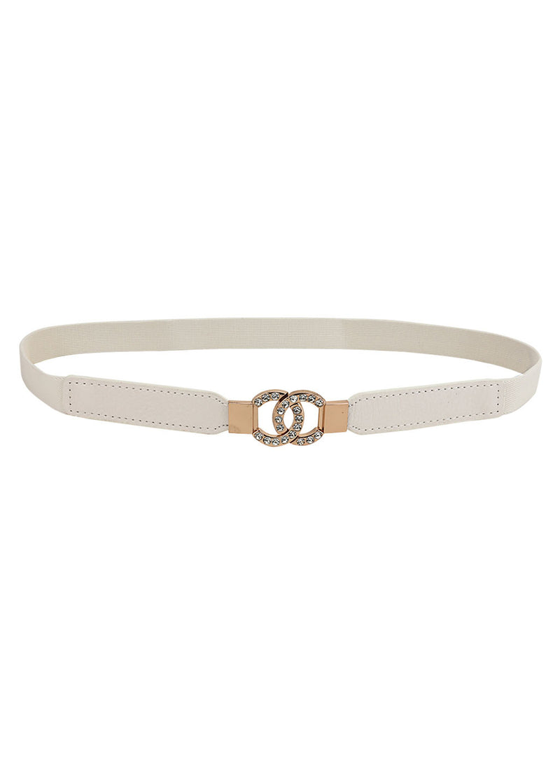 Rihnestone Detail Buckle Belt