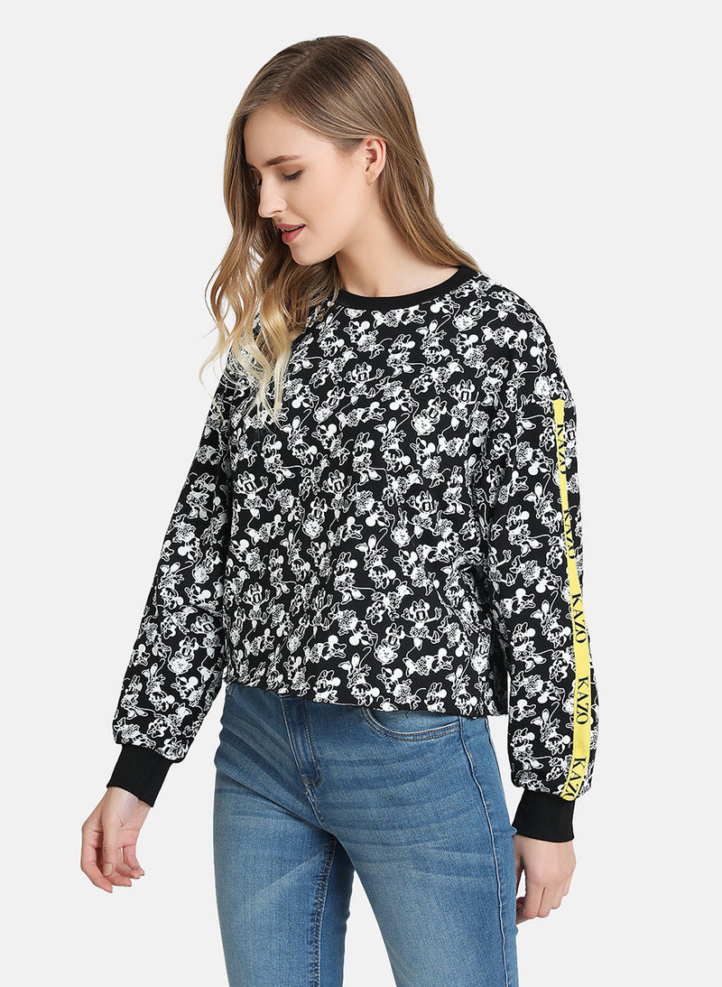 Minnie Mouse Print © Disney Sweatshirt