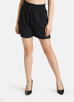 BROAD ELASTIC WAIST BAND SHORTS