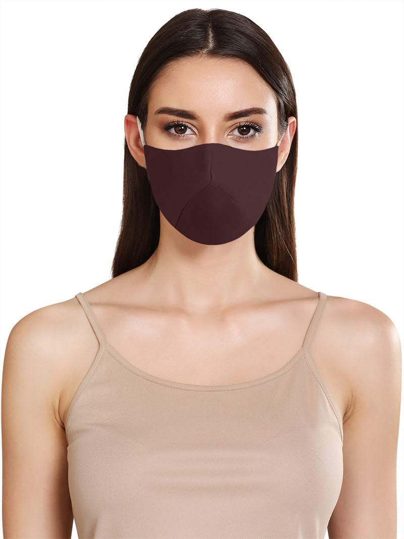 FITTED FACE MASK WITH ADJUSTABLE EAR LOOPS