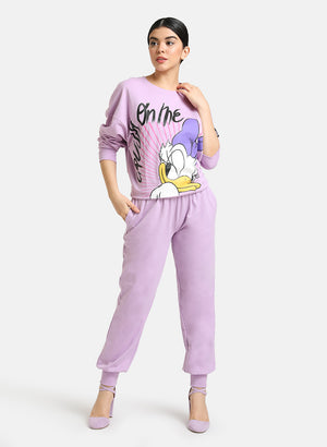 Daisy Duck © Disney 'Crush On Me' Printed Sweatshirt
