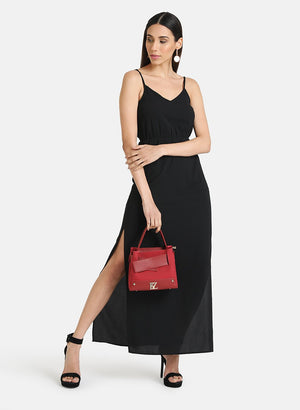 SPEGHATTI STRAP MAXI DRESS