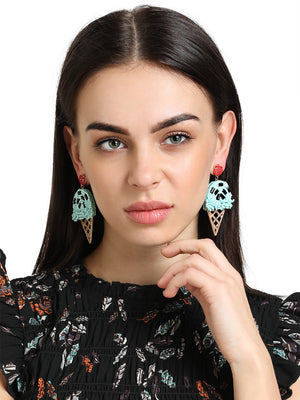 ICE CREAM drop earrings