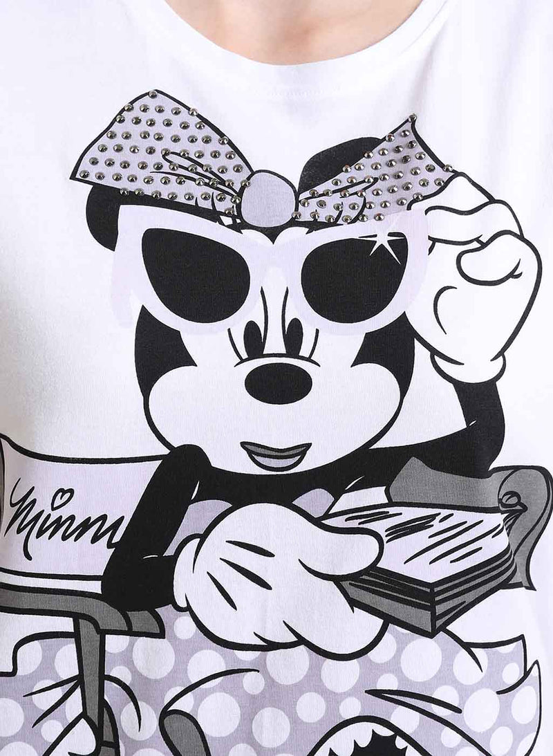 Minnie Mouse  © Disney Printed T-Shirt