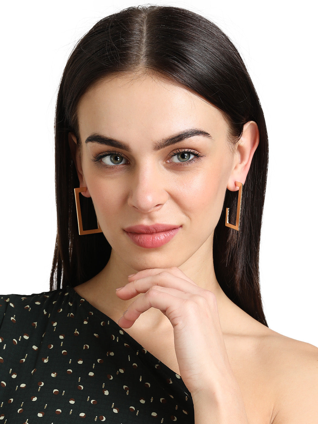 Semi shaped hoops