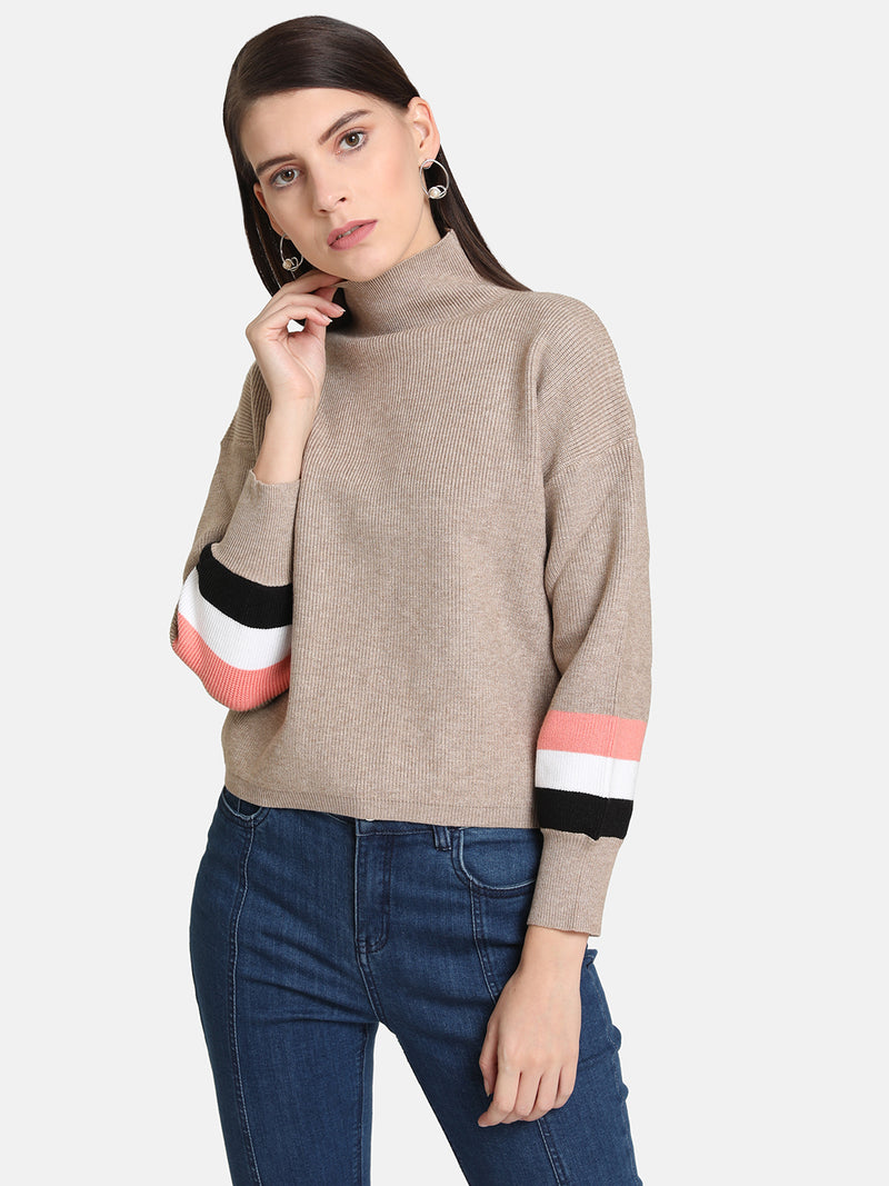 Cuff Detail Pullover