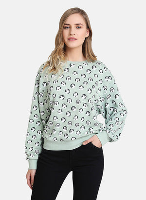 Minnie Mouse  © Disney All Over Printed Sweatshirt