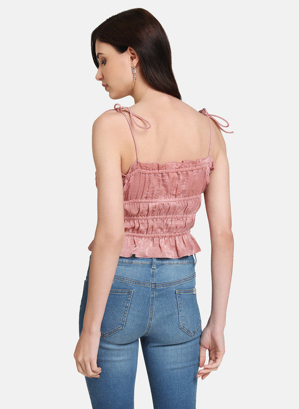NOODLE STRAP CROP TOP