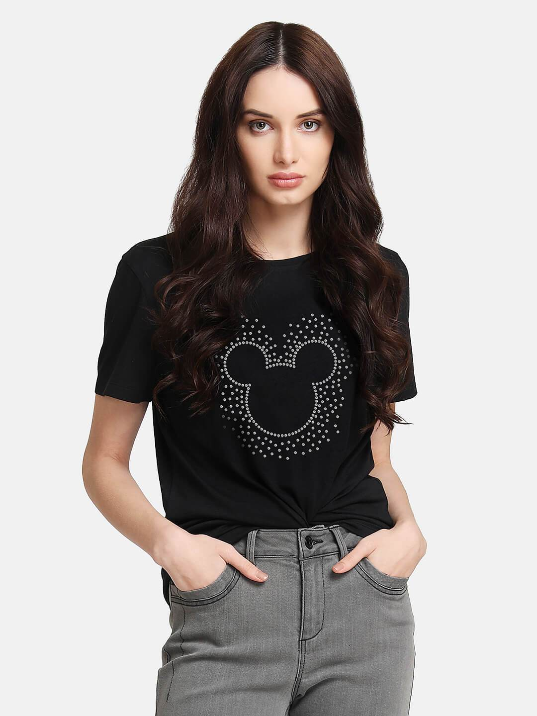 Mickey Mouse © Disney Diamond Studded T-Shirt